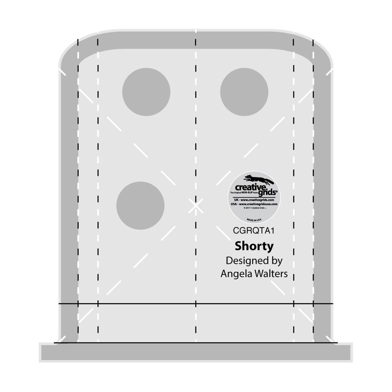 Creative Grids Machine Quilting Tool - Shorty (CGRQTA1)