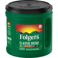 Folgers Classic Decaf Ground Coffee, Medium Roast, 30.5-Ounce