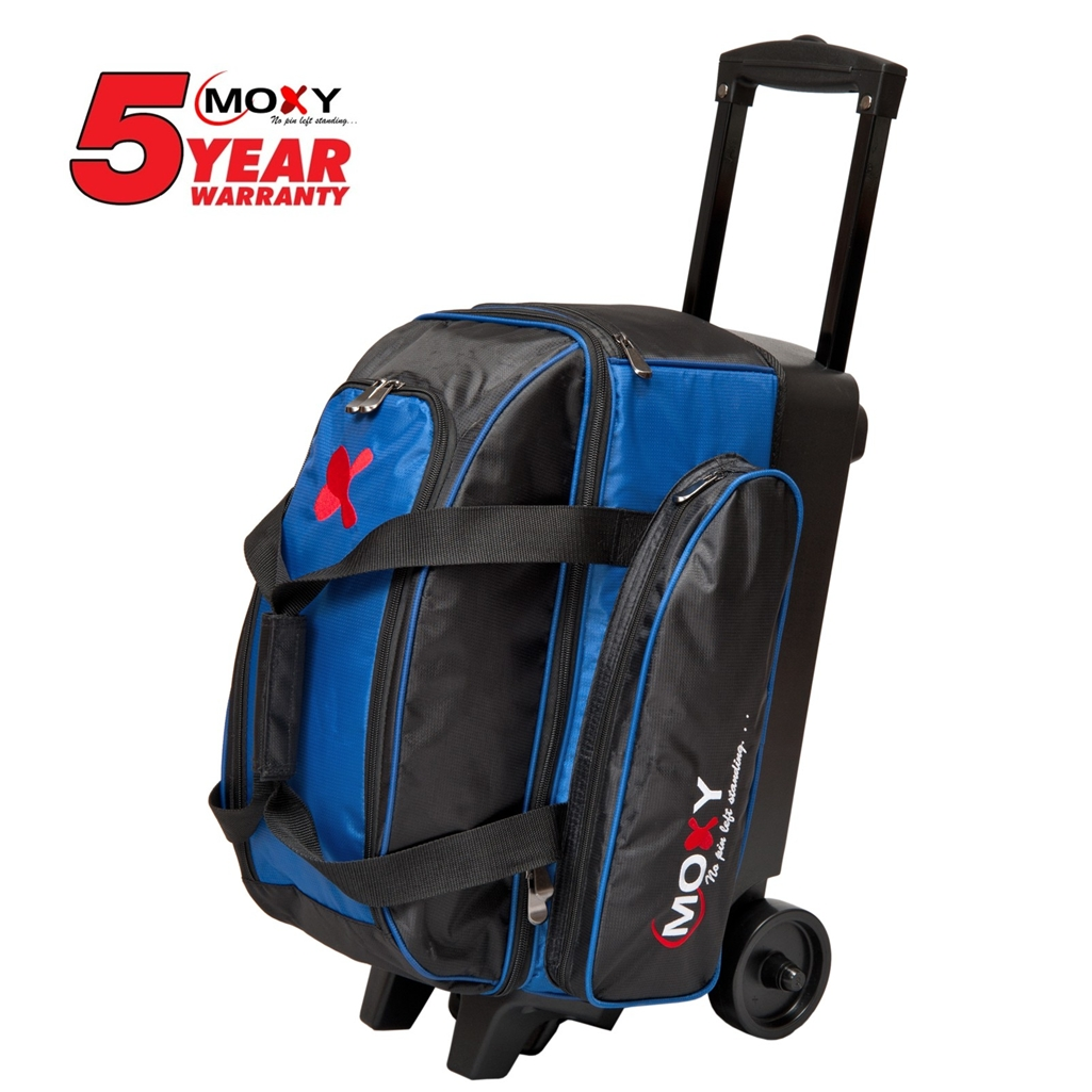 Moxy 2 Ball Roller Bowling Bag Royal