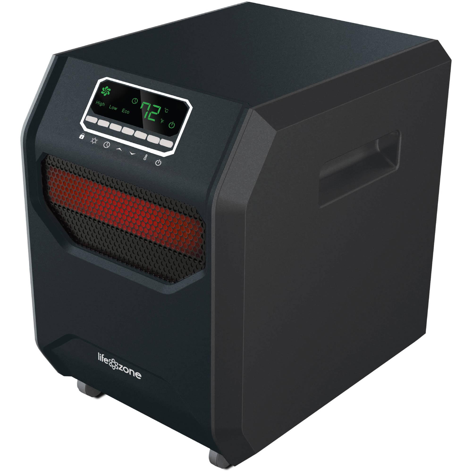 Lifesmart ZCHT1001US Zone Series 4 Element Infrared Heater, Black -  Walmart.com - Walmart.comWalmart.com