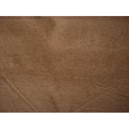 Mocha Upholstery (169H14 -Cocoa Brown / Mocha Brown Plush Velvety Chenille Upholstery Drapery Fabric - By the Yard)