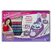 Cool Maker, 2-in-1 KumiKreator, Necklace and Friendship Bracelet Maker Activity Kit, for Ages 8 and Up