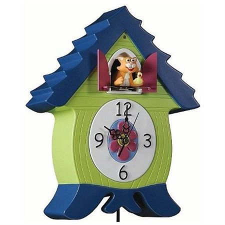 MeowCoo Cat Cuckoo Clock Heads Up Design 70412 by Heads Up Design