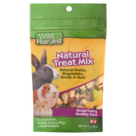 Wild Harvest Natural Treat Mix For Small Animals  3 Ct