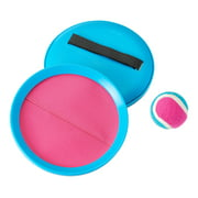 Play Day Toss & Catch Game Set, Comes with 2 Catch Discs and 1 Ball, Colors May Vary, Children Ages 3+