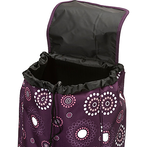 """Rockland Luggage Santorini 24"""" Rolling Shopping Tote"""