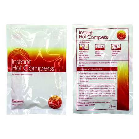 HONEYWELL NORTH 710924 Instant Hot Pack,White,9In. x  5In.