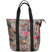 Angel Ranch Tote Bag Womens HotLeaf Canvas Nylon Zip Gray Pink HL101