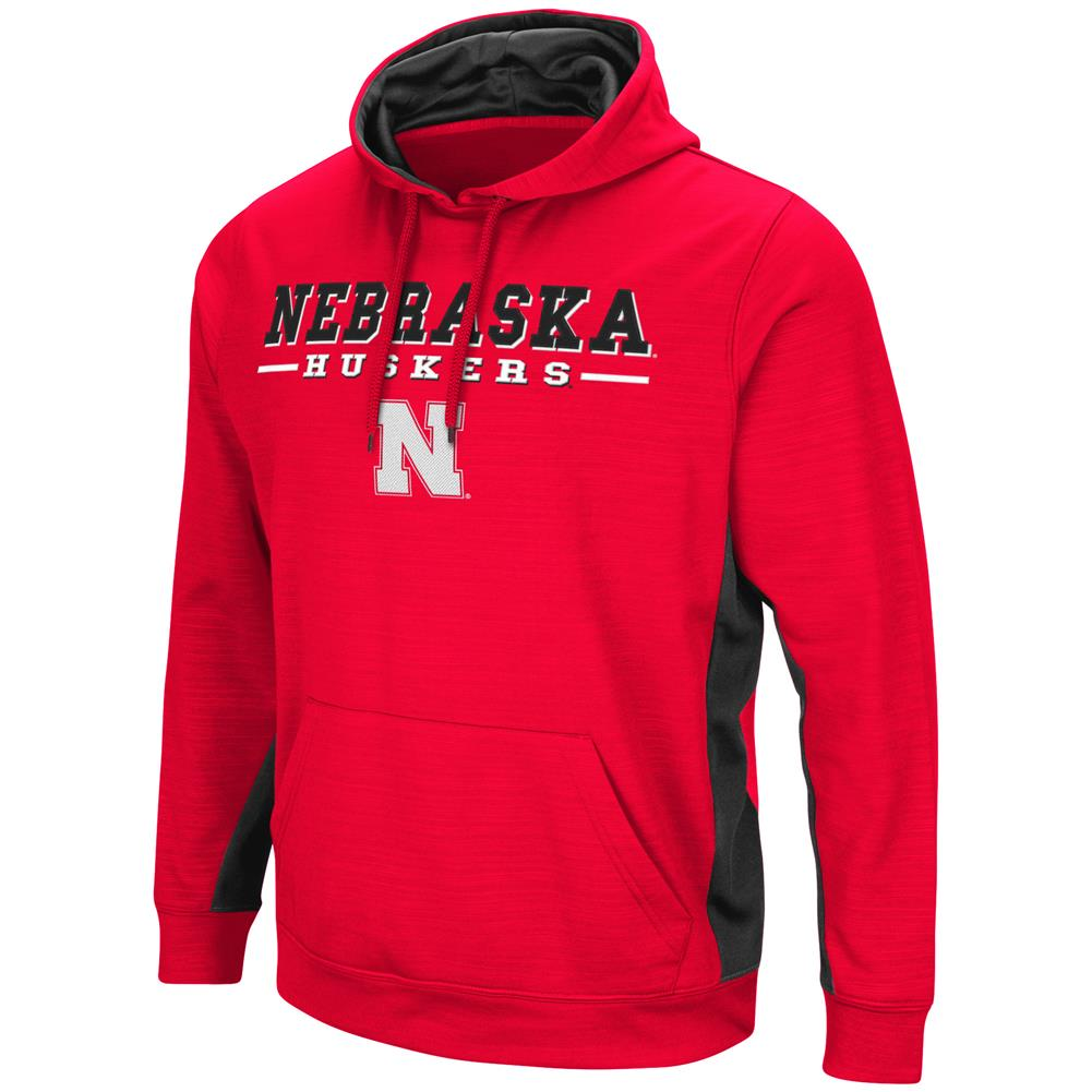 Nebraska Cornhuskers Hoodie Performance Fleece Pullover Jacket