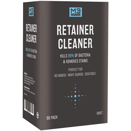 Premium Dental Denture And Retainer Cleaner Tablets 3 Month Supply