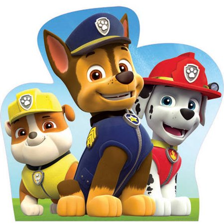 Paw Patrol Marshall, Chase, and Rubble Cardboard Stand-Up
