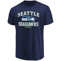 Men's Majestic College Navy Seattle Seahawks Greatness T-Shirt