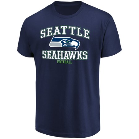 Men's Majestic College Navy Seattle Seahawks Greatness T-Shirt - Seattle Seahawks Gear