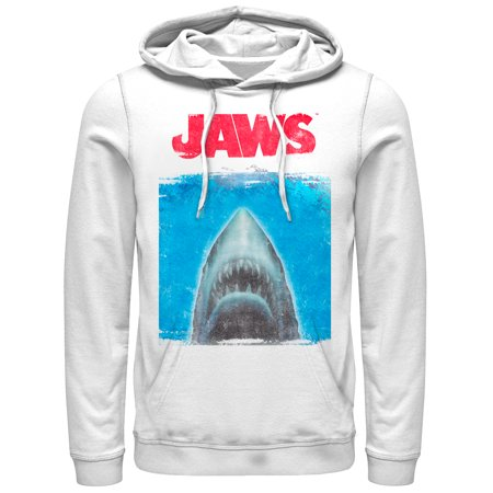 Jaws Men's Shark Movie Poster - Shark Hoodie Halloween