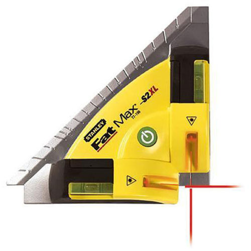 Stanley FatMax CST Berger 77-198 S2X High Powered Laser Square Level 4x Brighter Beam Brand New by Stanley