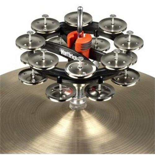 Rhythm Tech RT7422 Hat Trick G2 Double Row Nickel Jingles by