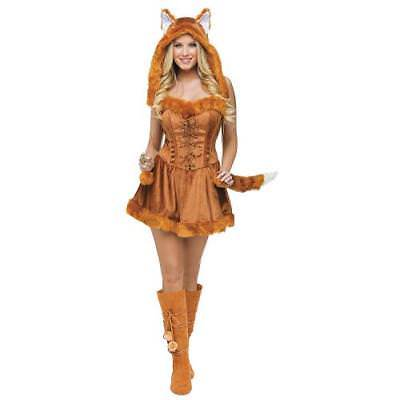 IN-13589797 Foxy Lady Halloween Costume for Women WOMEN 10-14 By Fun - Foxy Lady Costume