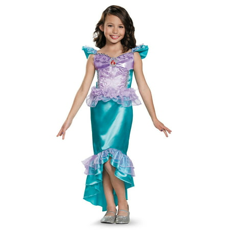 Disney Ariel Classic Child Costume - Flight Attendant Costume For Kids