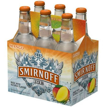 Smirnoff Mango Ice Beer, 6 pack, 12 fl oz