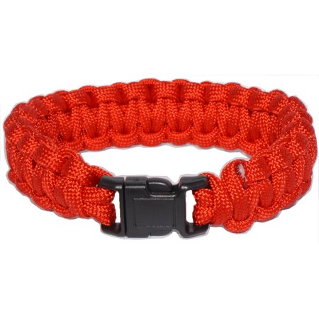 Every Day Carry 6 Ft Tactical Survival Paracord Bracelet Side Release Buckle](Making A Paracord Bracelet)
