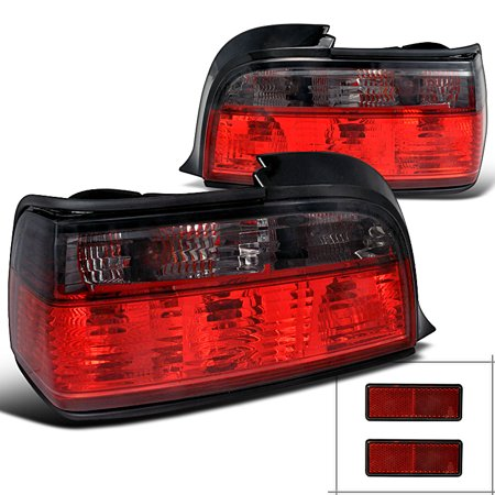 Bmw E36 3 Series 2 Door 318I 325I 328I M3 Tail Lights Lamps Pair