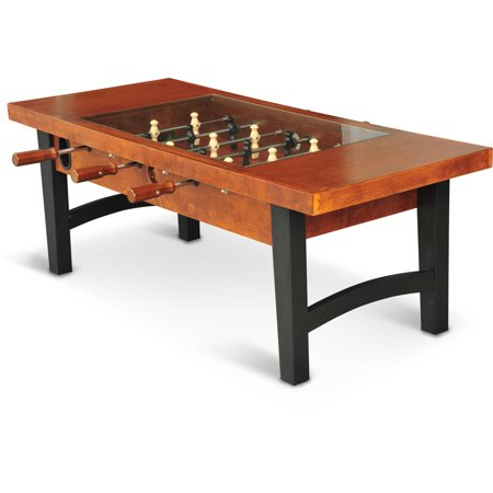 eastpoint sports 55 inch coffee table soccer foosball game. Black Bedroom Furniture Sets. Home Design Ideas