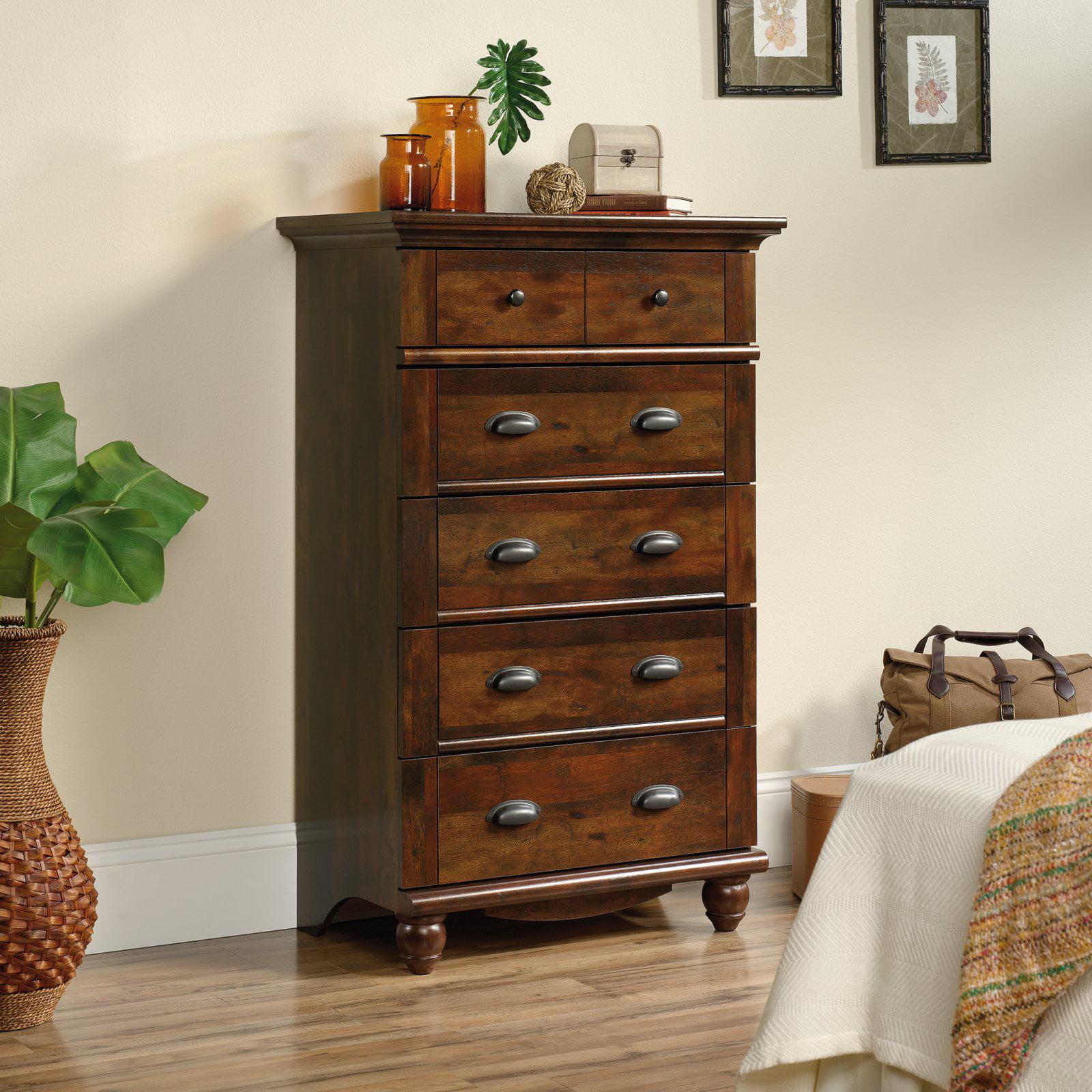 Sauder Harbor View 5-Drawer Dresser, Multiple Finishes by Sauder Woodworking Co