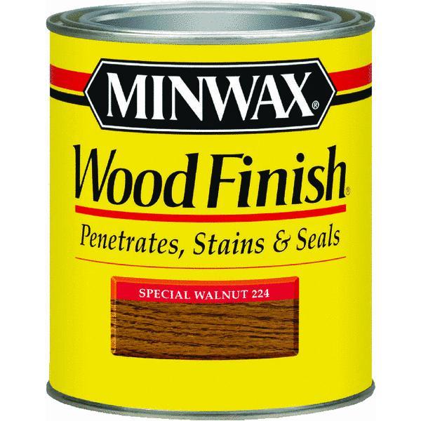 Minwax Wood Finish, 1/2 pt, Special Walnut