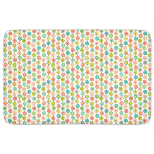 Uneekee Flower Curtain Bath Mat