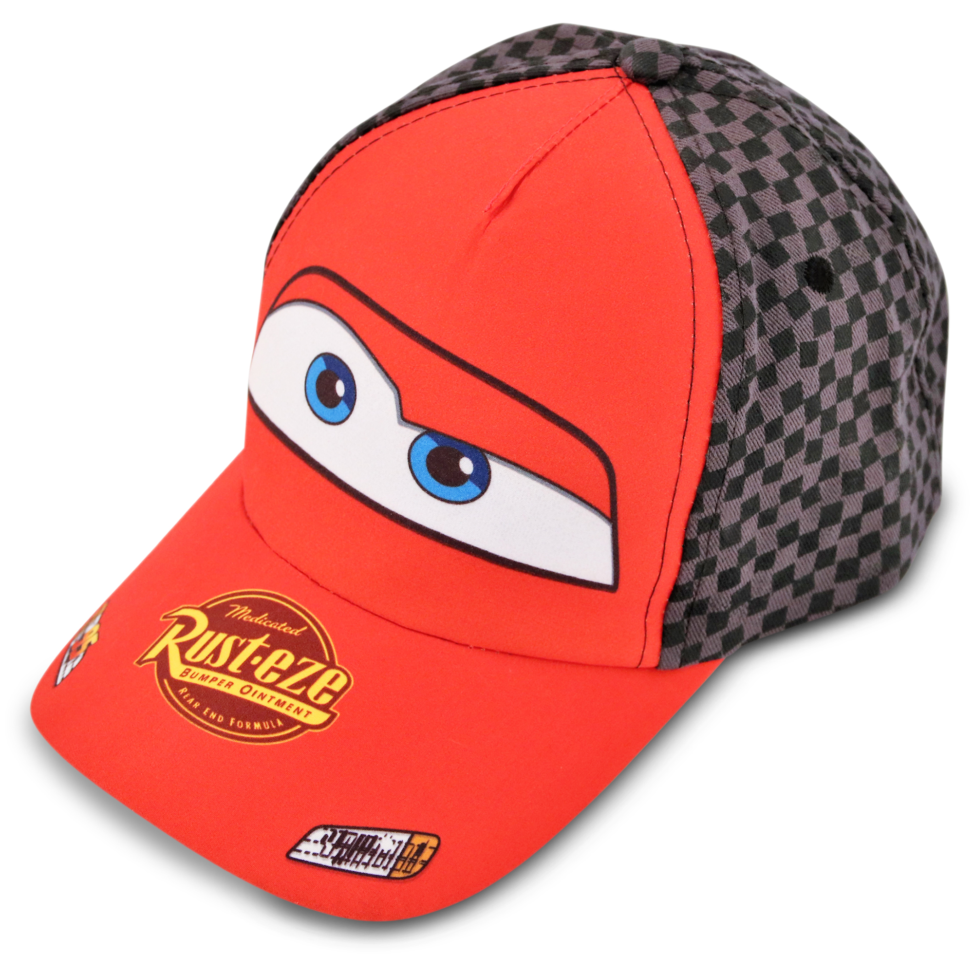 TODDLER BASEBALL CAP-DISNEY CARS-LIGHTNING MCQUEEN