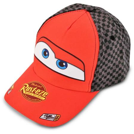 1b2f95e2b7c8 Toddler Boys Lightning McQueen Baseball Cap, Age 2-5 - Walmart.com