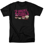 2 Broke Girls Cupcakes Mens Short Sleeve Shirt
