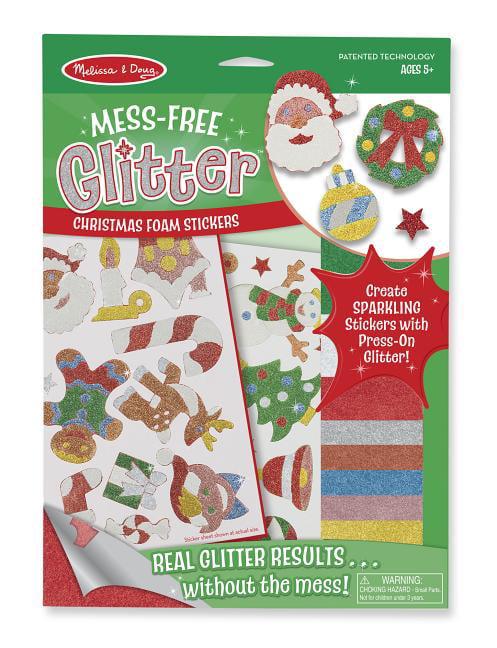 The Night Before Premium Simply Creative Christmas Glitter Craft Stickers