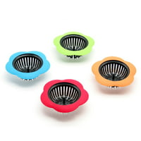 Flower Shaped Kitchen Sink Filter Water Tank Strainer Sewer Bath Plug Stopper