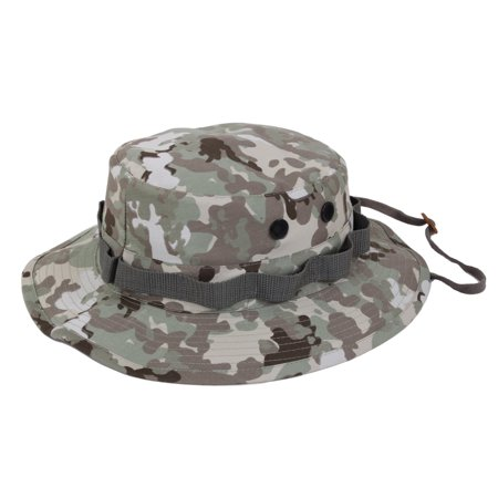 Rothco Camouflage Military Style Boonie Hat, Total Terrain Camo