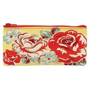 Pencil Case - Blue Q - Ring Around The Rosy Stationery Pouch Bag QA737