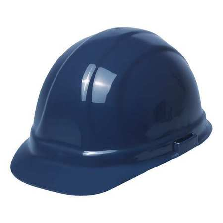 ERB SAFETY Hard Hat,6 pt. Ratchet,Dark Bl 19993