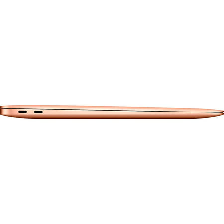 Apple MacBook Air Laptop 13.3u0022 Retina Display with Touch ID, Intel Core i3 Processor, 8GB RAM, 256GB SSD, Mac OS, Gold, MWTL2LL/A