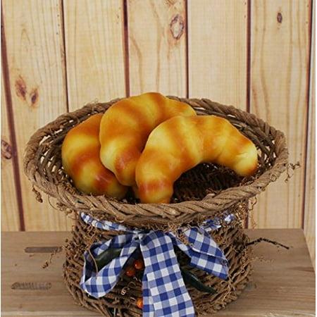 Mr.Garden Artificial Bread Platter Lifelike Fruit For Display 5 Pieces - Fruit Platter Ideas For Halloween