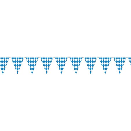 Morris Costumes Party Supplies Oktoberfest Pennant Banner, Style BG50970 - Oktoberfest Decoration Ideas
