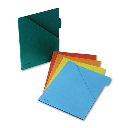 Wilson Jones Jacket with 1/2 Inch Expansion, Letter, Assorted Colors, 5/Pack -WLJ28800 (Wilson Jones File)