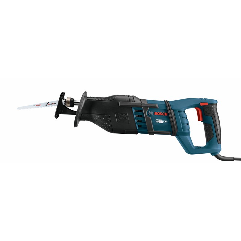 Bosch 1 in. Corded Reciprocating Saw Kit 12 amps 120 volt 2800 spm