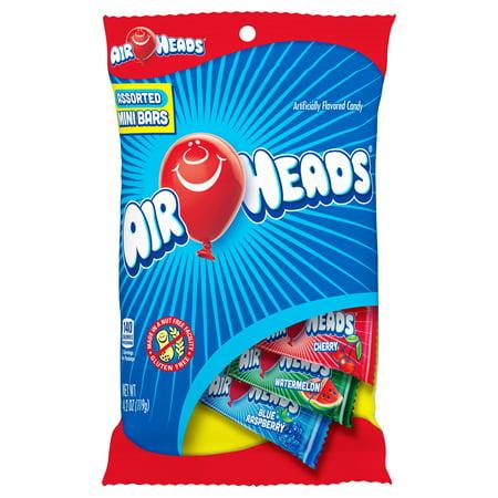 Airheads Mini Bars 4.2oz Peg Bag - Box of 12