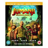 Jumanji: Welcome To The Jungle 2017 3D Blu-ray Region Free