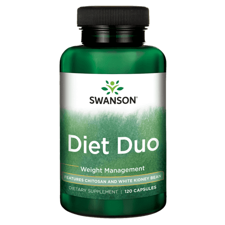 Swanson Diet Duo 120 Caps (Best Plexus Products For Weight Loss)