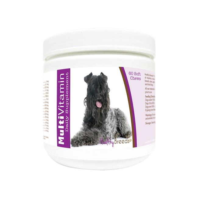 Healthy Breeds 840235171072 Kerry Blue Terrier Multi-Vitamin Soft Chews - 60 Count
