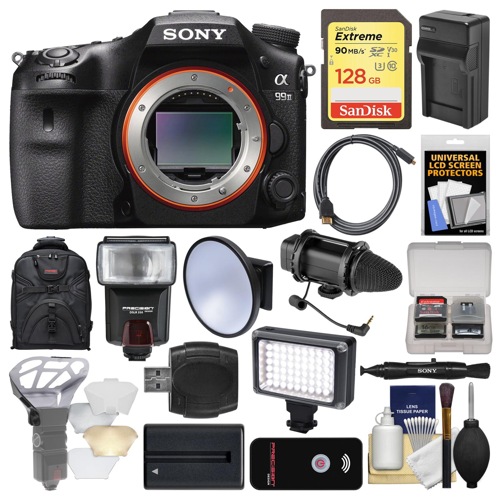 Sony Alpha A99 II Full Frame 4K Wi-Fi Digital SLR Camera ...