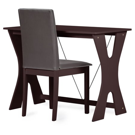 Baxton Studio Cary Contemporary Writing Desk and Chair Set