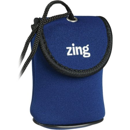 Zing Designs Camera Pouch, Large (BLUE)*AUTHORIZED ZING USA DEALER*