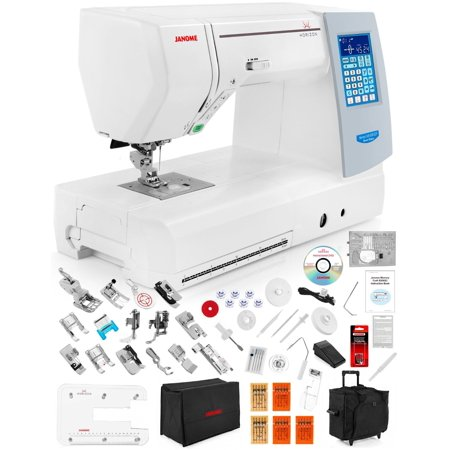 Janome Memory Craft Horizon 8200 Qcp Special Edition Computerized Sewing Machine W  Free 11 Piece V I P  Reward Package